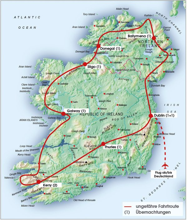 routenkarte-gruppe-irland-10tage-2020