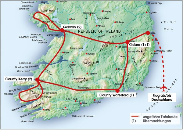 routenkarte-gruppe-irland-exklusiv-8tage-2020