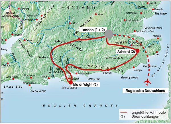 routenkarte-gruppe-suedengland-wight-8tage-2020